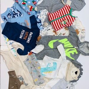 Large Lot of Little Boys Baby Clothing